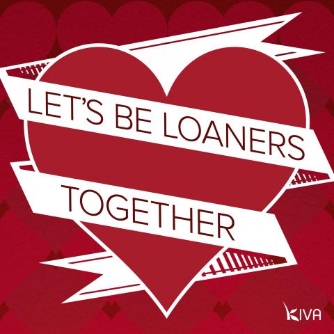 Let's be loaners, together